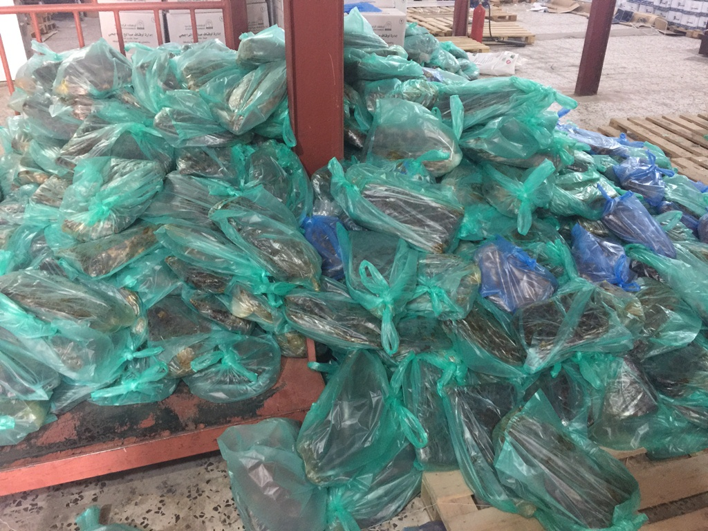 بر بلجرشي وبتعاون مع سنابل الخيري بالبكيرية تقوم بتوزيع التمور للمستفيدين